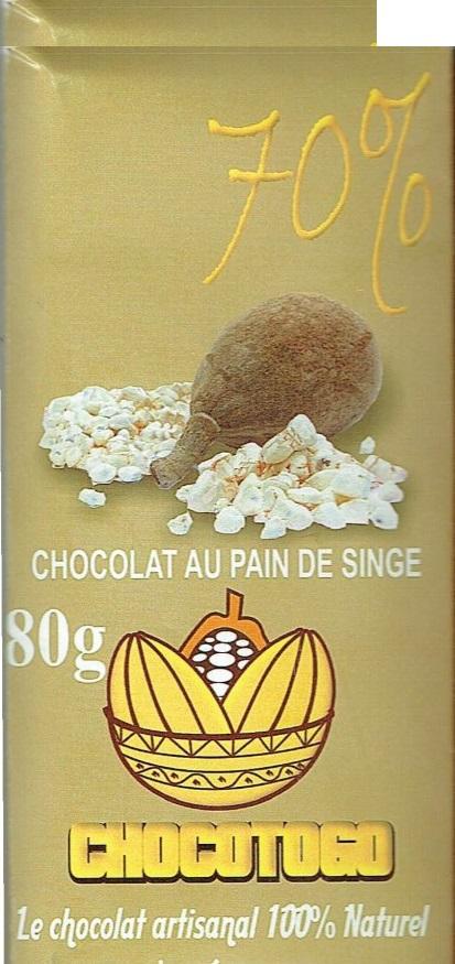 Chocolat au pain de singe