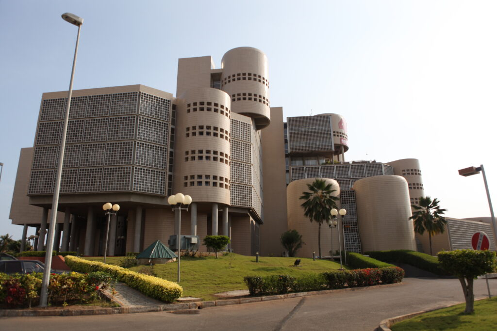 siège du batiment de la banque ouest africaine de développement