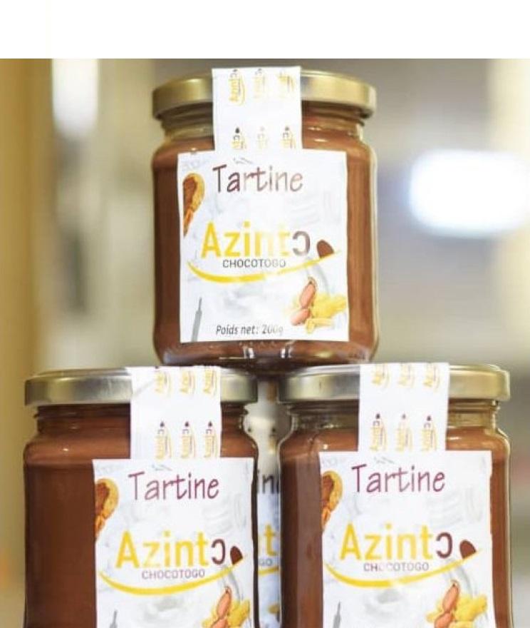 Tartine cacao - arachide