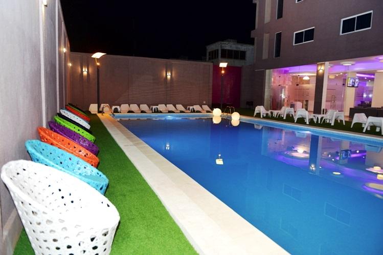 piscine de l'hôtel du Golfe