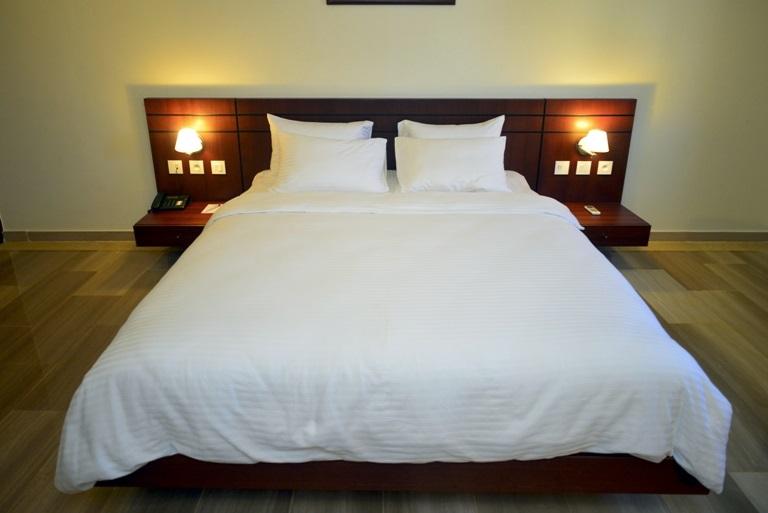 Suite de luxe de l'hôtel du Golfe