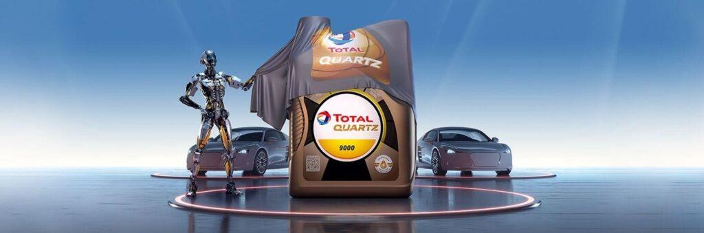 Huile moteur Total Quartz chez Total Togo