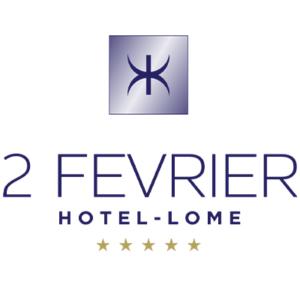 logo de l'hôtel 2 Février à Lomé Togo