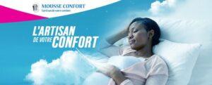 Bannière de Mousse Confort
