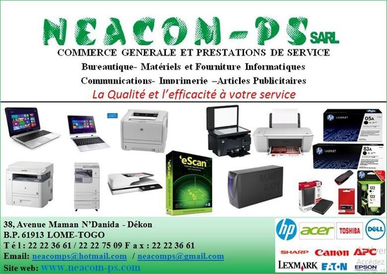 Les produits chez Neacom-PS