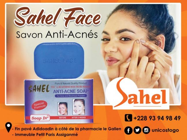 Savon Sahel face