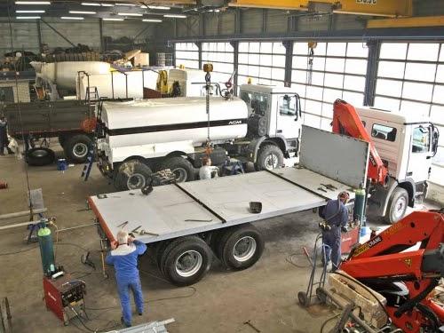 Personnalisation de camion par Van Vliet
