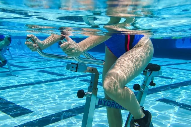 Aquabike de l'hôtel Le Patio