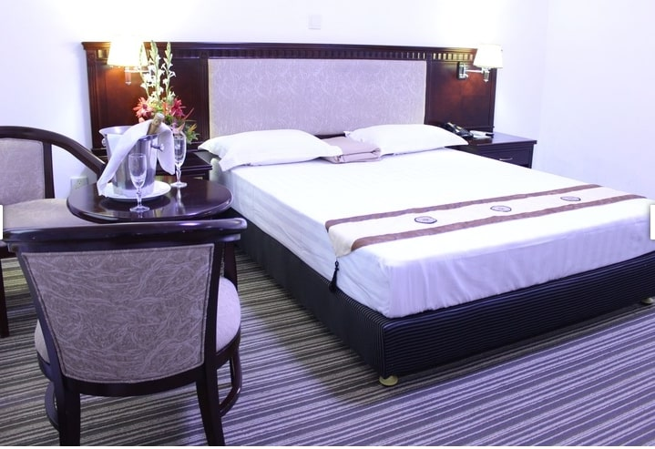 Chambre double standard de l'hôtel Eda-Oba