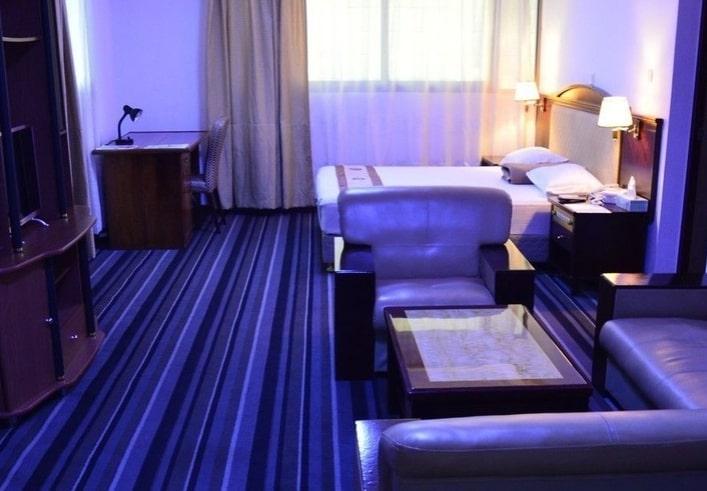 Chambre premium de l'hôtel Eda-Oba