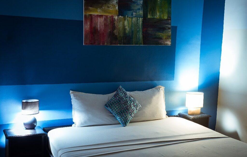 Chambre luxury de l'hôtel Seaside