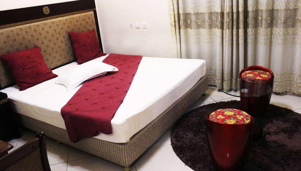 Chambre standard double de l'hôtel El Doria