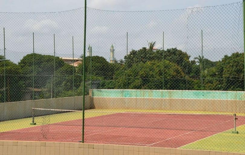 Court de tennis de l'hôtel Eda-Oba