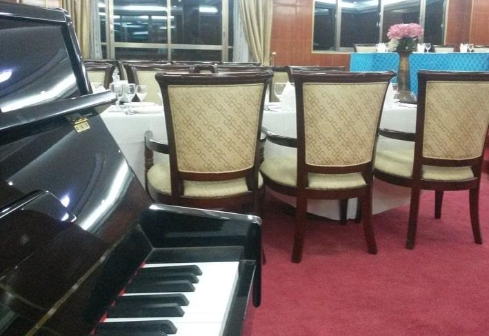 Restaurant de l'hôtel Eda-Oba