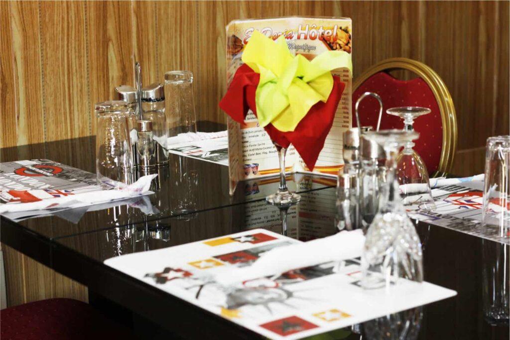 Restaurant de l'hôtel El Doria