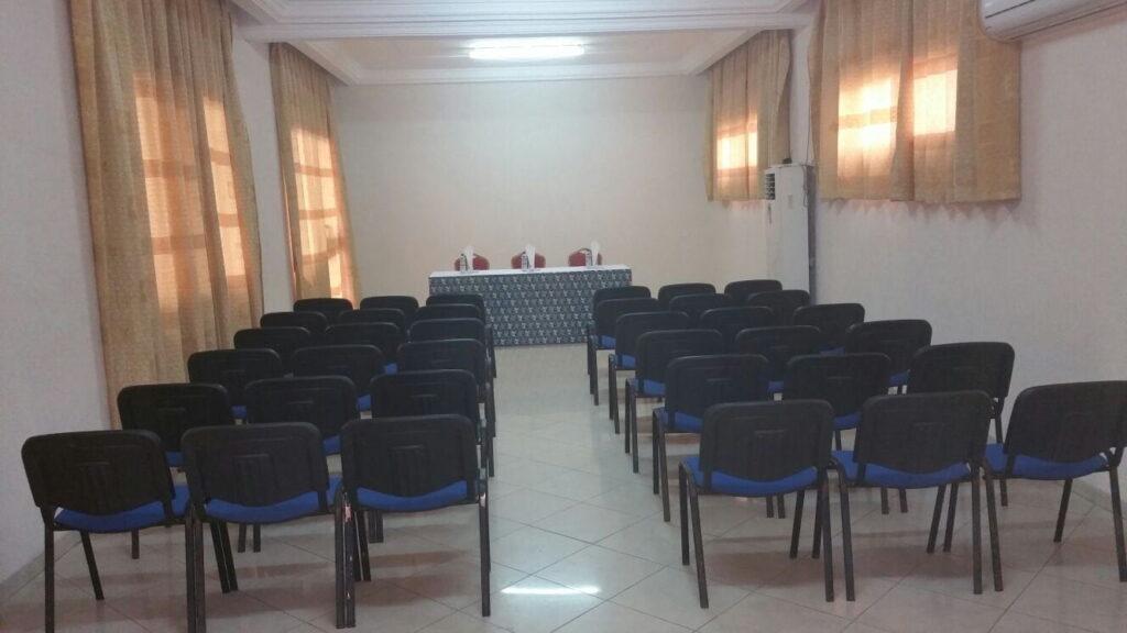 Salle de réunion de l'hôtel Le Galion