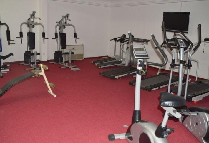 Salle de sport de l'hôtel Eda-Oba