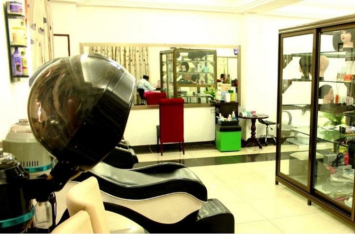 Salon d'esthétique de l'hôtel Eda-Oba