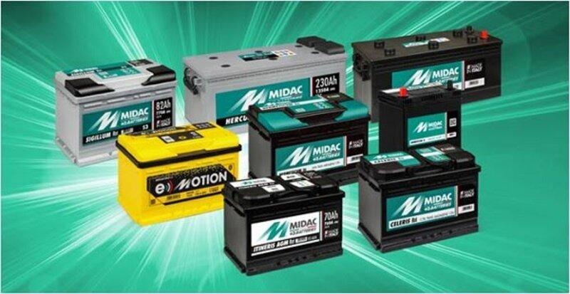 Batterie Midac de Premium Togo