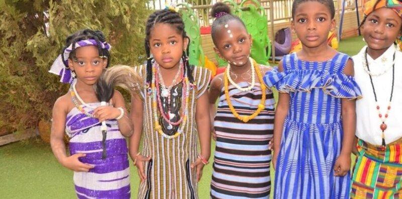 Élèves du primaire de l'École Internationale Mariam