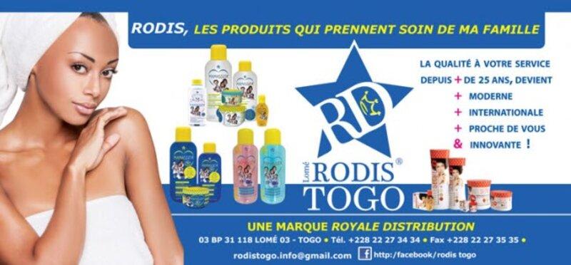 Produits cosmétiques Rodis