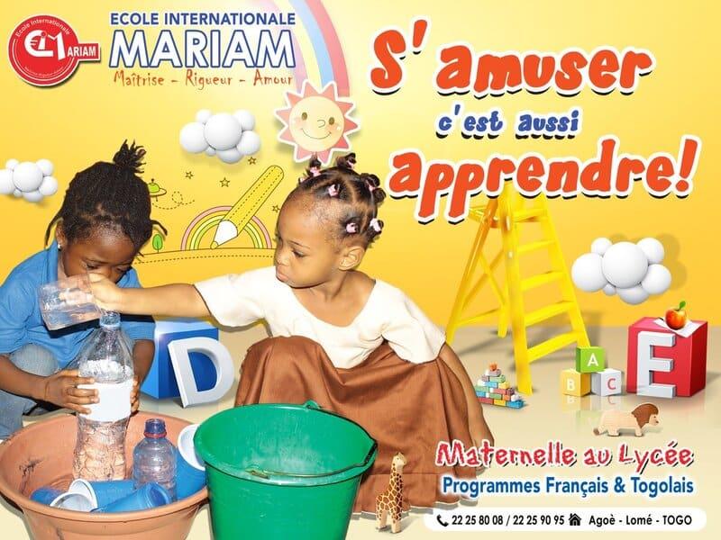 Divertissement de l'École Internationale Mariam