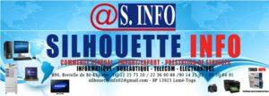 Logo Silhouette Info